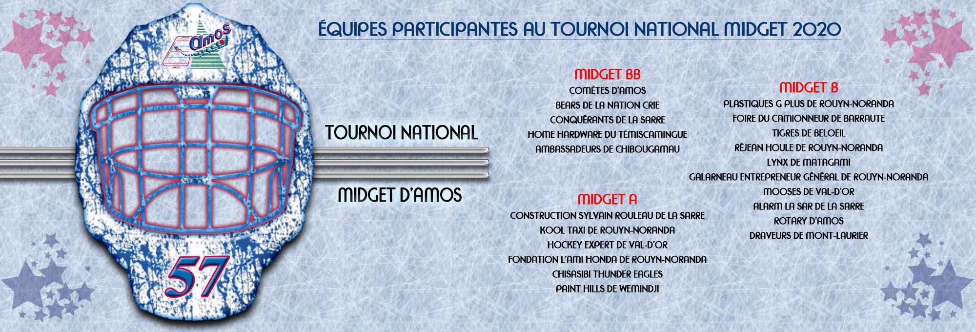 Inscriptions Tournoi 2020